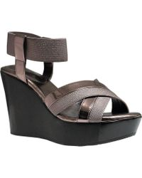 Charles by Charles David | Fort Ankle Strap Wedge Sandal | Lyst