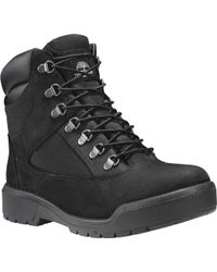 578ec6aea2fd Lyst - Timberland Field Boot 6  Fabric And Leather Waterproof Boot ...
