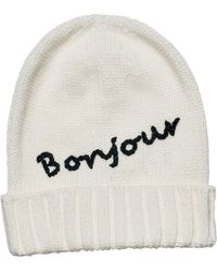 San Diego Hat Company - Knit Beanie With Bonjour/cuff Knh3471 - Lyst