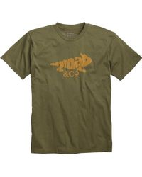 Toad&Co - Imbedded Toad Short Sleeve Tee - Lyst