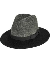San Diego Hat Company - Colorblock Knit Fedora Knh3614 - Lyst