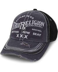 True Religion - Triple X Baseball Cap - Lyst