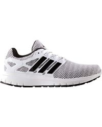 release date: 0ad4f d80cd adidas - Energy Cloud 2-tone Knit Mesh Running Shoe - Lyst