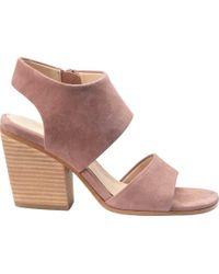 Ravenna Suede Block Heel Sandals 7VOnW8