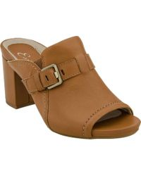 Earthies - Trevi Buckled Slide - Lyst