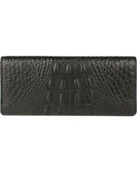 Scully - Embossed Croco Wallet 5007 - Lyst