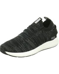new style d85f0 3d81e PUMA - Trainers Black Black iron Gate - Lyst