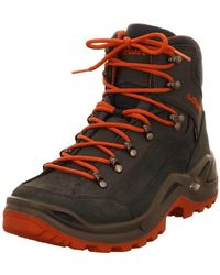 Lowa Casual Lace-ups Blue -renegade Navy/rost Renegade Gtx Mid 310945/6975