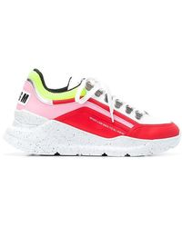 MSGM - Never Look Back Sneaker Neon - Lyst