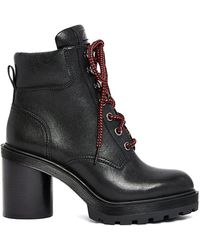 Marc Jacobs - Crosby Hiking Boot In Black - Lyst