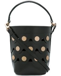 Pierre Hardy - Black Penny Bucket Bag - Lyst