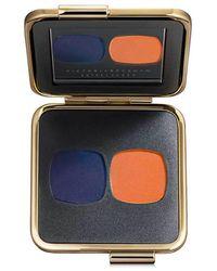 Victoria Beckham - Eye Matte Duo In Saphir/orange Vif - Lyst