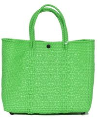Truss - Green Small Tote Bag - Lyst