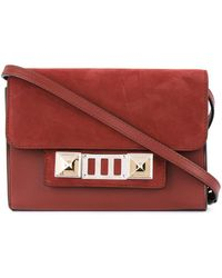 Proenza Schouler - Red Plum Ps11 Cross-body Wallet Bag - Lyst