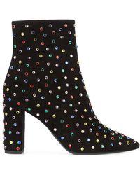Saint Laurent - Black Betty 95 Ankle Boots - Lyst