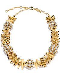 Lele Sadoughi | Gold Cicada Necklace | Lyst