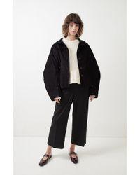 Lemaire - Large Sleeve Corduroy Jacket - Lyst