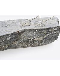 Gabriela Artigas | Sterling Silver Boreal Pin Hoop Earrings | Lyst