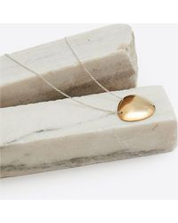 Quarry | Nina Brass Necklace | Lyst