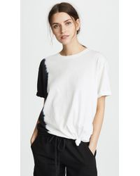 Hudson Jeans - X Baja East Knotted Tee - Lyst
