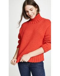 Tory Sport - Chunky Oversized Sweater - Lyst