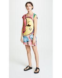Boutique Moschino - Moon Shirt Dress - Lyst