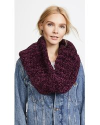 Free People | Love Bug Chenille Cowl Scarf | Lyst