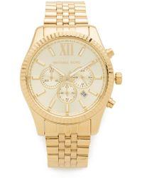 Michael Kors - Oversized Lexington Watch - Lyst