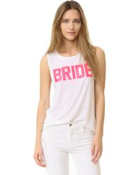 Private Party - Bride Tank - Lyst