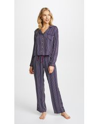 Splendid - Inviting Stripe Pj Set - Lyst