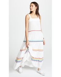 9seed - Sayulita Tier Maxi Dress - Lyst