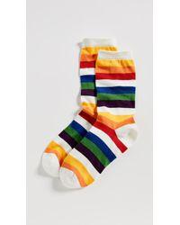 Marc Jacobs - Rainbow Socks - Lyst