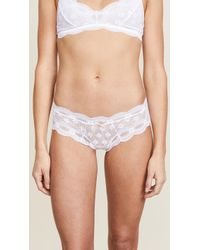 Eberjey - India Lace Low Rise Boy Thong - Lyst