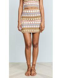 She Made Me - Maala Crochet Skirt - Lyst