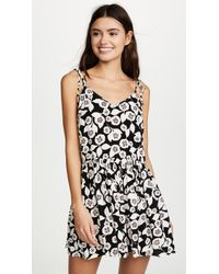 Kate Spade - Aliso Beach Cover Up Flare Romper - Lyst