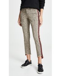 Pam & Gela - Uniform Side Stripe Step Hem Jeans - Lyst