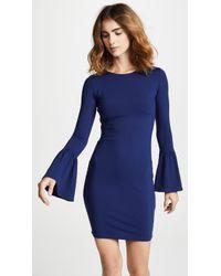 Susana Monaco - Bell Sleeve Cuff Dress - Lyst