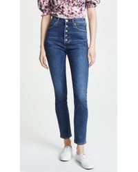 Citizens of Humanity - Olivia Exposed Fly Jeans - Lyst