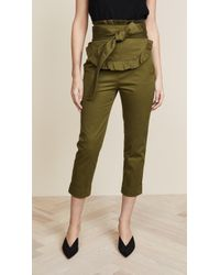 Marissa Webb - Adelaide Washed Pants - Lyst