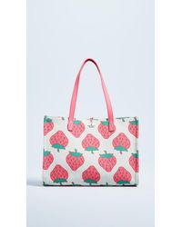 Kate Spade - Picnic Perfect Strawberry Tote - Lyst