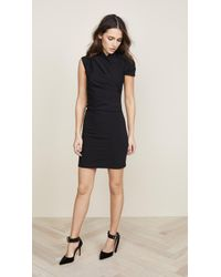 Nina Ricci - Mini Dress With Asymmetrical Shoulder - Lyst