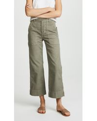 AMO | Army Wide Leg Pants | Lyst