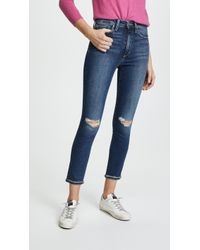 Joe's Jeans - The Charlie Raw Cuff Cropped Jeans - Lyst