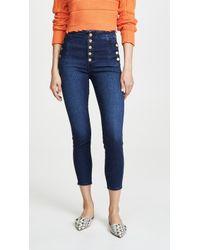 J Brand - Natasha Sky High Crop Skinny Jeans - Lyst