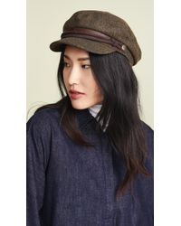 Brixton - Fiddler Newsboy Hat - Lyst