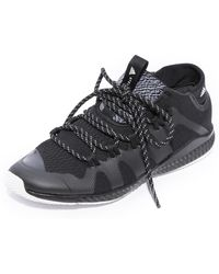 d22f51e5a adidas By Stella McCartney - Crazytrain Bounce Mid Sneakers - Lyst