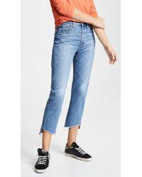 Levi's - 501 Crop Jeans - Lyst