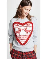 Michaela Buerger - Heart Sweatshirt - Lyst