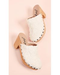 Free People - Cabin Fever Clog Mules - Lyst