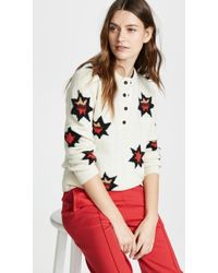 Scotch & Soda - Knitted Henley Pullover - Lyst